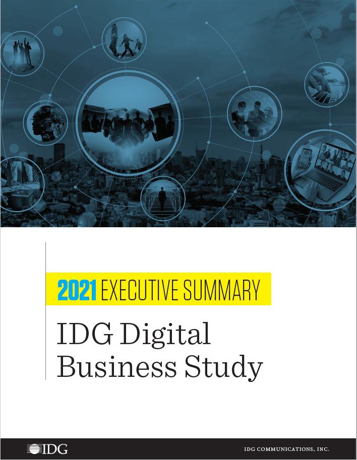 2021 digital business executive summary cover