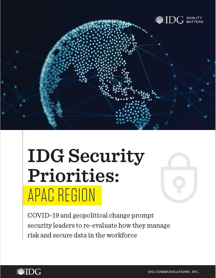 APAC Security Priorities cover