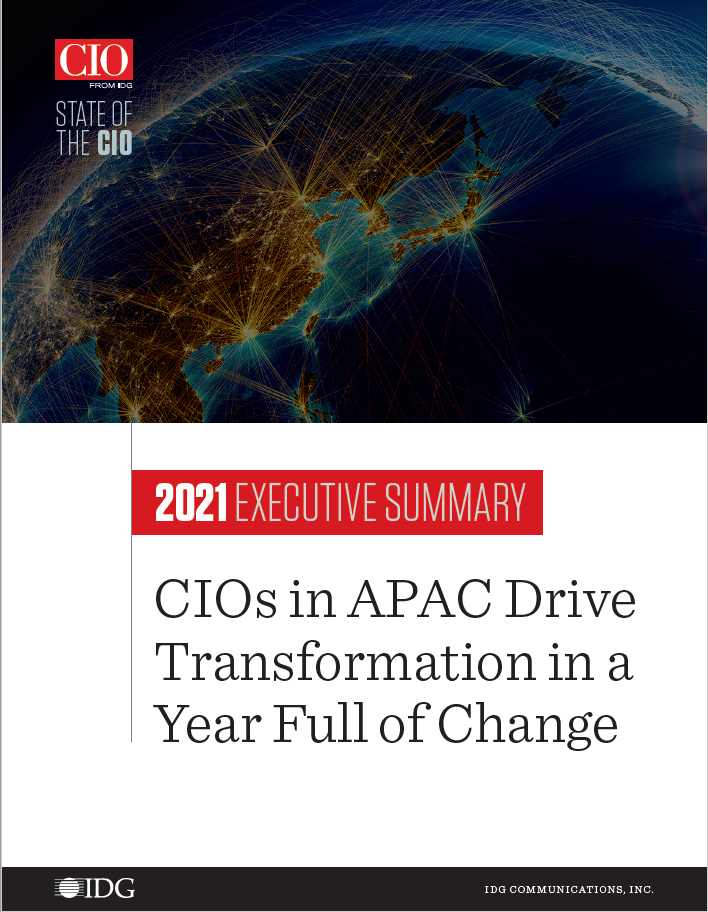 APAC State of the CIO Cover Image