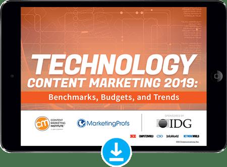 Technology Content Marketing 2019