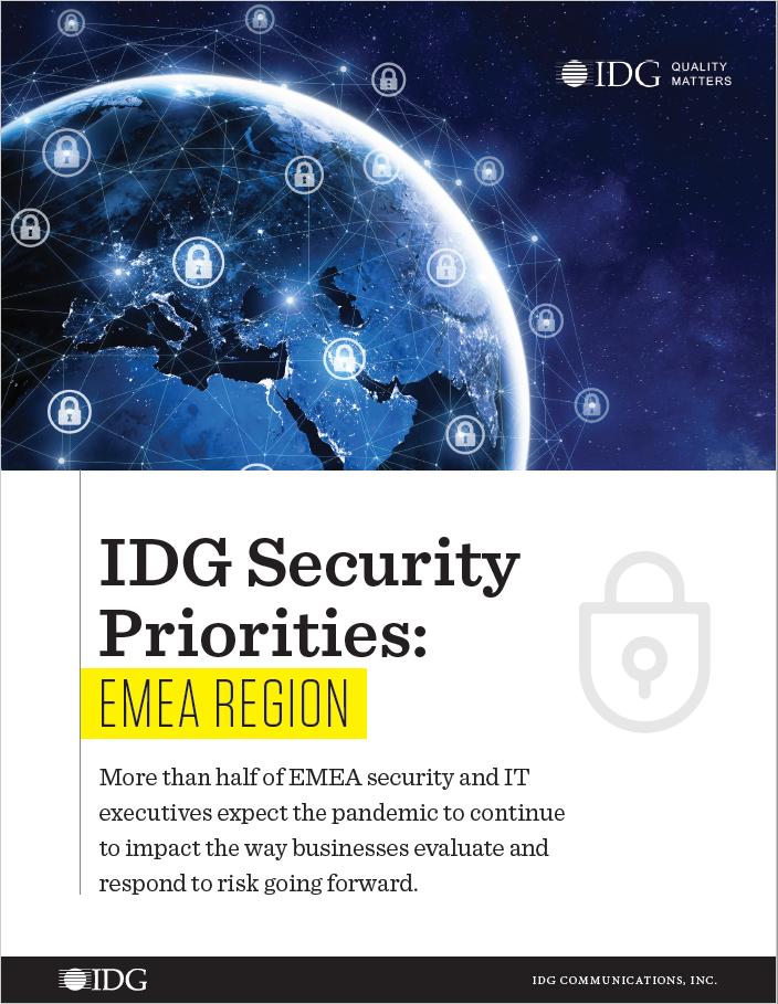 Security Priorities EMEA cover