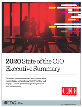 State of the CIO Executive Summary cover