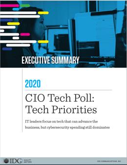 Tech Priorities 2020 Executive Summary Cover