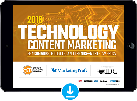 download-tech-content-marketing-2018-report-now
