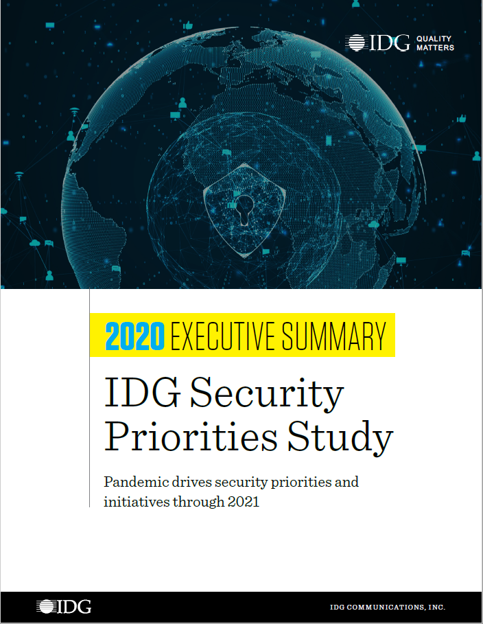2020 Security Priorities Cover Image