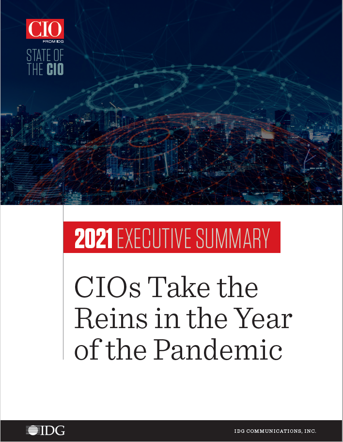 2021 State of the CIO executive summary cover