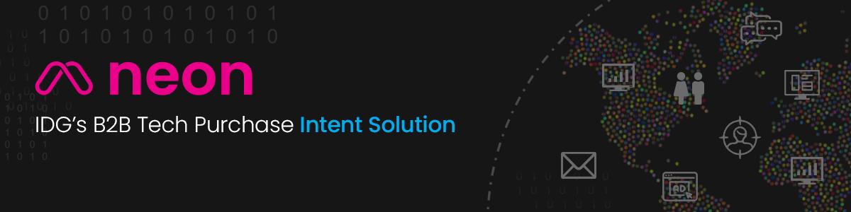 Neon IDG's B2B Tech Purchase Intent Data Solution
